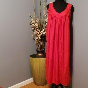 Advance Apparels red one size sundress